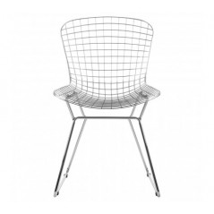 District Chair Checkered Silver