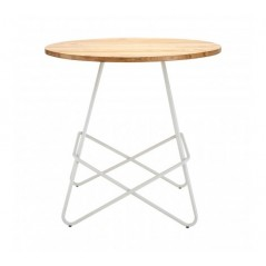 District Dining Table Round White