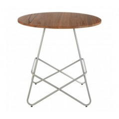 District Dining Table Round Grey
