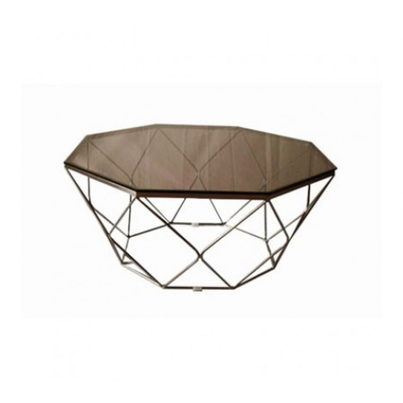 Allure Coffee Table Geometry Diamond Bronze