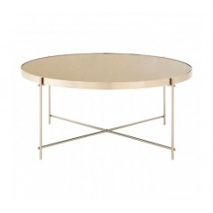 Allure Coffee Table Round Grey