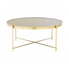 Allure Coffee Table Round Black