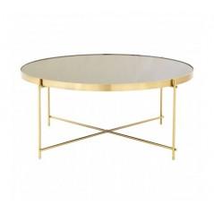 Allure Coffee Table Round Black
