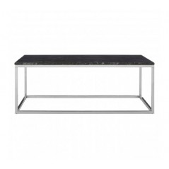 Allure Coffee Table Marble Rectangular Silver