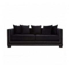 Sofia 3 Seat Sofa Black