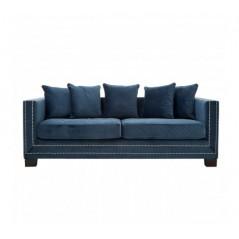 Sofia 3 Seat Sofa Blue