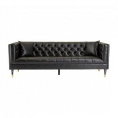 Raven 3 Seat Sofa Black