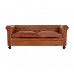 Barnes Chesterfield Sofa Brown