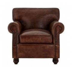 Barnes Armchair Dark Brown