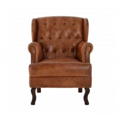Barnes Wing Chair Light Brown