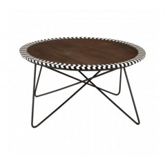 Artisan Coffee Table Round Natural