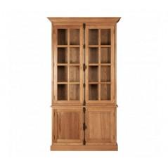 Lyon Display Cabinet Single Brown