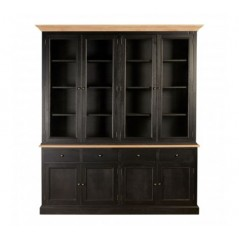 Lyon Display Cabinet Black
