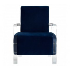 Clarence Armchair Blue
