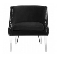 Clarence Tub Chair Black