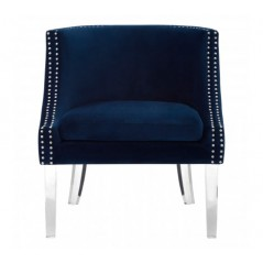 Clarence Tub Chair Blue