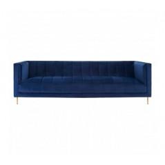 Otylia 3 Seat Sofa Blue