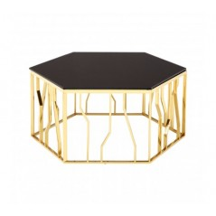 Alvaro Coffee Table Kinked Black