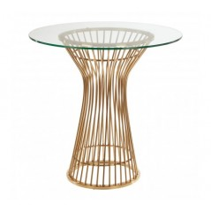 Vogue Dining Table Gold