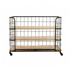 Crest Shelf 3 Tier Black
