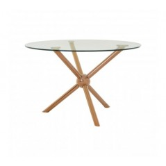 Novo Dining Table Round Rose Gold