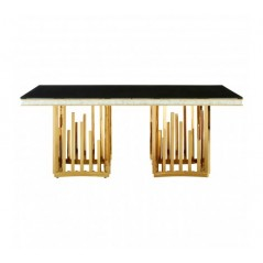 Eliza Dining Table Gold