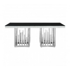 Eliza Dining Table Silver