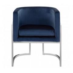 Eliza Tub Chair Blue