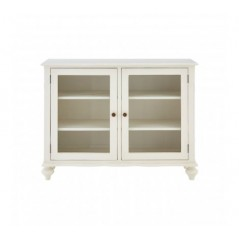 Loire Display Cabinet Short White