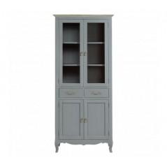 Loire Display Cabinet Grey