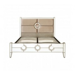 Knightsbridge Super King Bed Silver