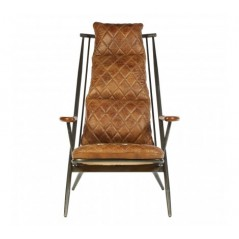 Hoxton Armchair Light Brown