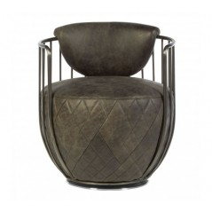Hoxton Tub Chair Grey