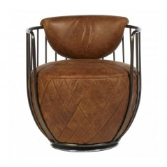 Hoxton Tub Chair Light Brown