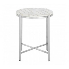 Eva Side Table White