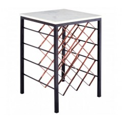 Kelly Side Table White