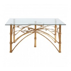 Zariah Dining Table Gold