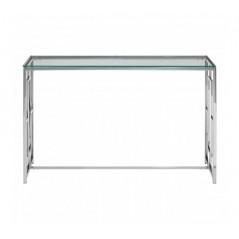 Davis Console Table Window Silver