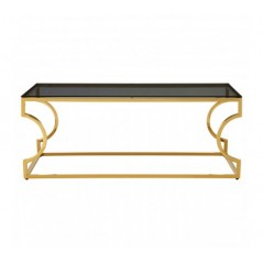 Allure Console Table Curvy Gold