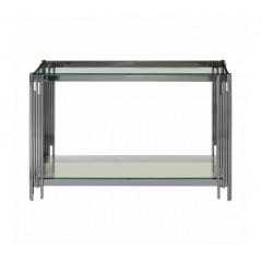 Alvaro Console Table Stick Silver