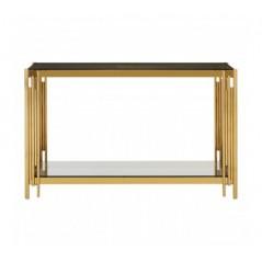 Alvaro Console Table Stick Gold