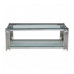 Alvaro Coffee Table Stick Silver