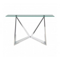 Allure Console Table Wing Silver