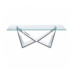 Allure Coffee Table Wing Silver