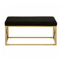 Davis Bench Box Black Gold