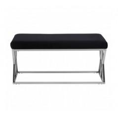 Allure Bench Inverted Triangle Black Silver