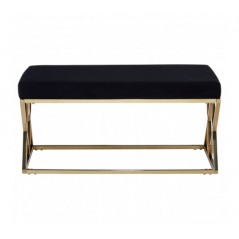 Allure Bench Inverted Triangle Black Gold