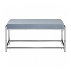 Allure Bench Marble Blue Silver