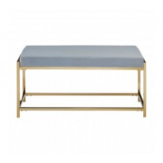 Allure Bench Marble Blue Gold