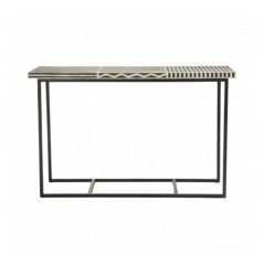 Boho Console Table Parallel Black